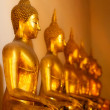 Stock Photo: Buddhas in Wat Po