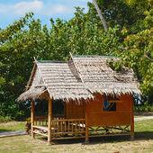 традиционные тайские бунгало — Стоковое фото