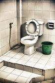 Dirty Toilet — Stock Photo