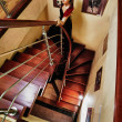 Beautiful Lady on Stairway — Stock Photo #9938920