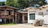 Aldeia rural tailandesa — Fotografia Stock