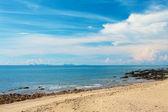 Spiaggia rocciosa — Foto Stock