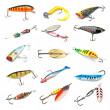 Fishing Baits Collection — Stock Photo #9940098