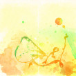 Colorful watercolor background — Stock Photo #10457783