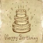 Birthday card — Stock Photo #10457916