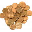 US Pennies — Stock Photo