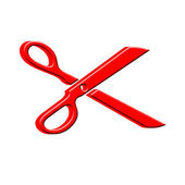 3D Scissors — Stock Photo