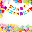 Birthday  party interior. - Stock Photo