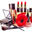Decorative cosmetics for makeup. — Stock Photo #10519315