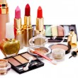 Stock Photo: Group decorative cosmetics .