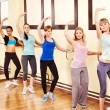 Women in aerobics class. — Stock Photo #10526642