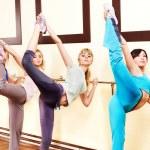 Women in aerobics class. — Stock Photo #10526645