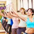 Women in aerobics class. — Stock Photo #10526646