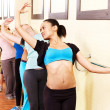 Women in aerobics class. — Stock Photo #10526648
