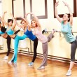 Women in aerobics class. — Stock Photo #10526650