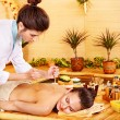 Royalty-Free Stock Photo: Bamboo massage.