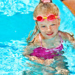 Child in swimming pool — Stock Photo #8600780