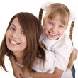 Happy family mother and daughter. — Stock Photo #8628621