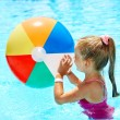 Child swimming in pool. — Stock Photo #9068700