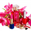 Royalty-Free Stock Photo: Decorative cosmetics and perfume.