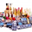 Decorative cosmetics for makeup. — Stock Photo #9280460