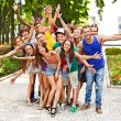 Group of outdoors. — Stock Photo #9298710