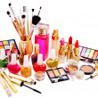 Decorative cosmetics and perfume. - Stock Photo