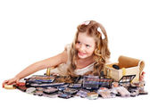 Child cosmetics. — Stock Photo