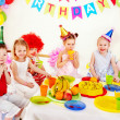 Child birthday party . - Zdjęcie stockowe