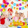 Stok fotoğraf: Child birthday party .