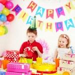 Child birthday party . — ストック写真