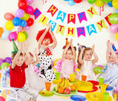 Child birthday party . — Stok fotoğraf