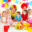 Child birthday party . — Stock Photo