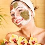 Natural homemade clay facial masks. — Stock Photo #9870944