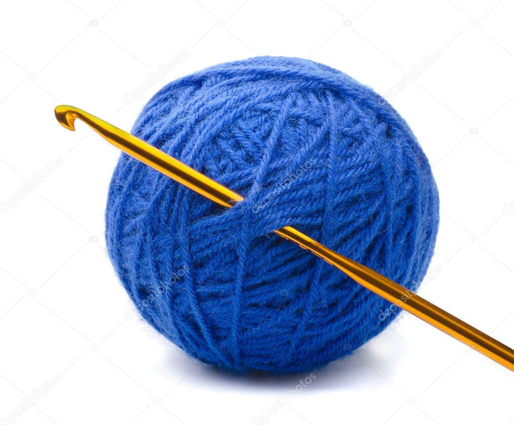 Вязание нитки на крючок 405