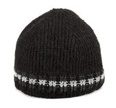 Black tuque — Stock Photo