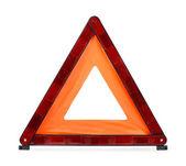 предупреждающий треугольник — Стоковое фото