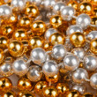 Christmas beads — Stock Photo