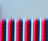 Birthday candles — Zdjęcie stockowe