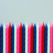 Royalty-Free Stock Photo: Birthday candles