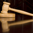 Justice gavel - Stock Photo
