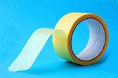 Building tape on roll — Stock Photo