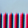 Birthday candles — Stock Photo #9639281