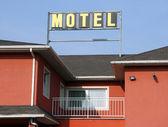 Signboard Motel — Stock Photo