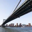 ManhattBridge towards midtown New York — Stockfoto #10062634