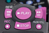 Smashed remote control — Stock Photo