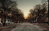 Duke of Gloucester street at dawn — Stock Photo