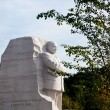 Martin Luther King Monument DC — 图库照片