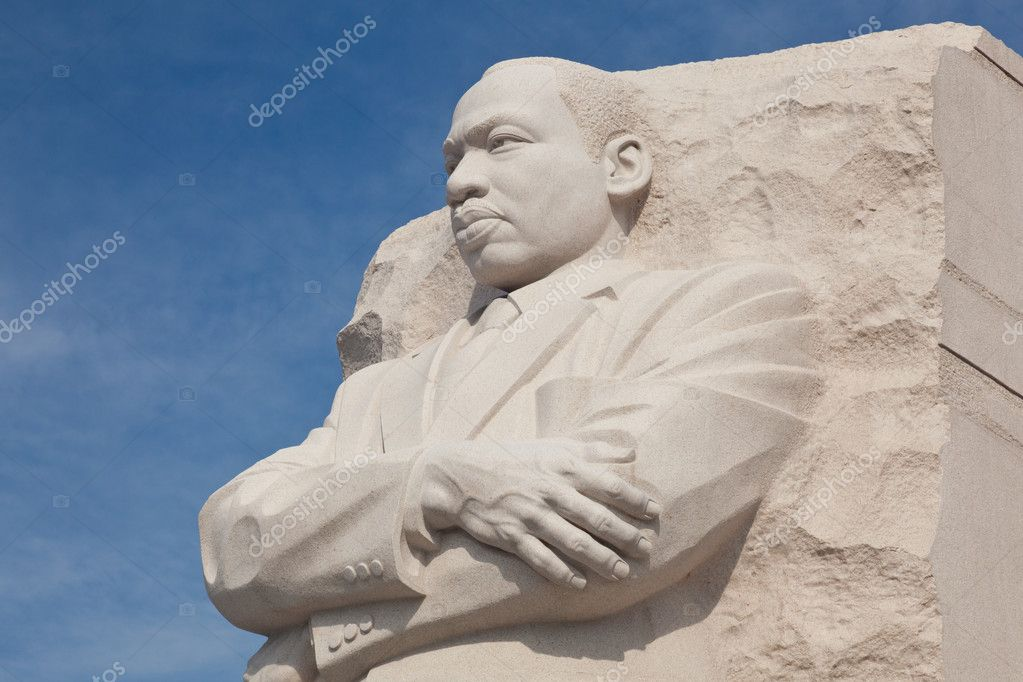 Washington, DC - August 24: The monument to Dr Martin Luther King in Washington DC is to be dedicated by President Obama on August 28, 2011. — Stock Photo #8956663