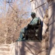 President Buchanan statue in Meridian park — Stock Photo